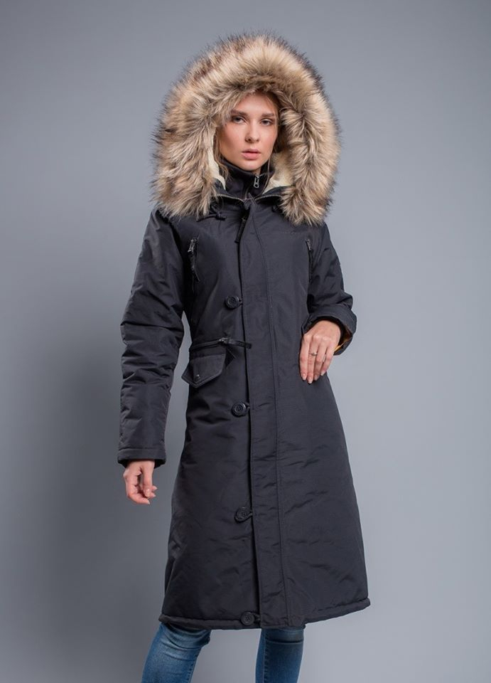 Куртка жіноча Airboss модель 173000773121_dark_gray