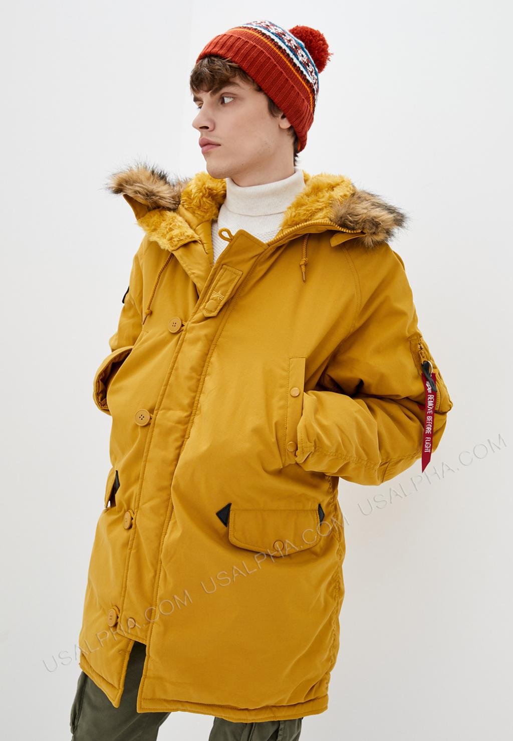 Куртка чоловіча Alpha Industries модель MJA43917C1_Tumblweed