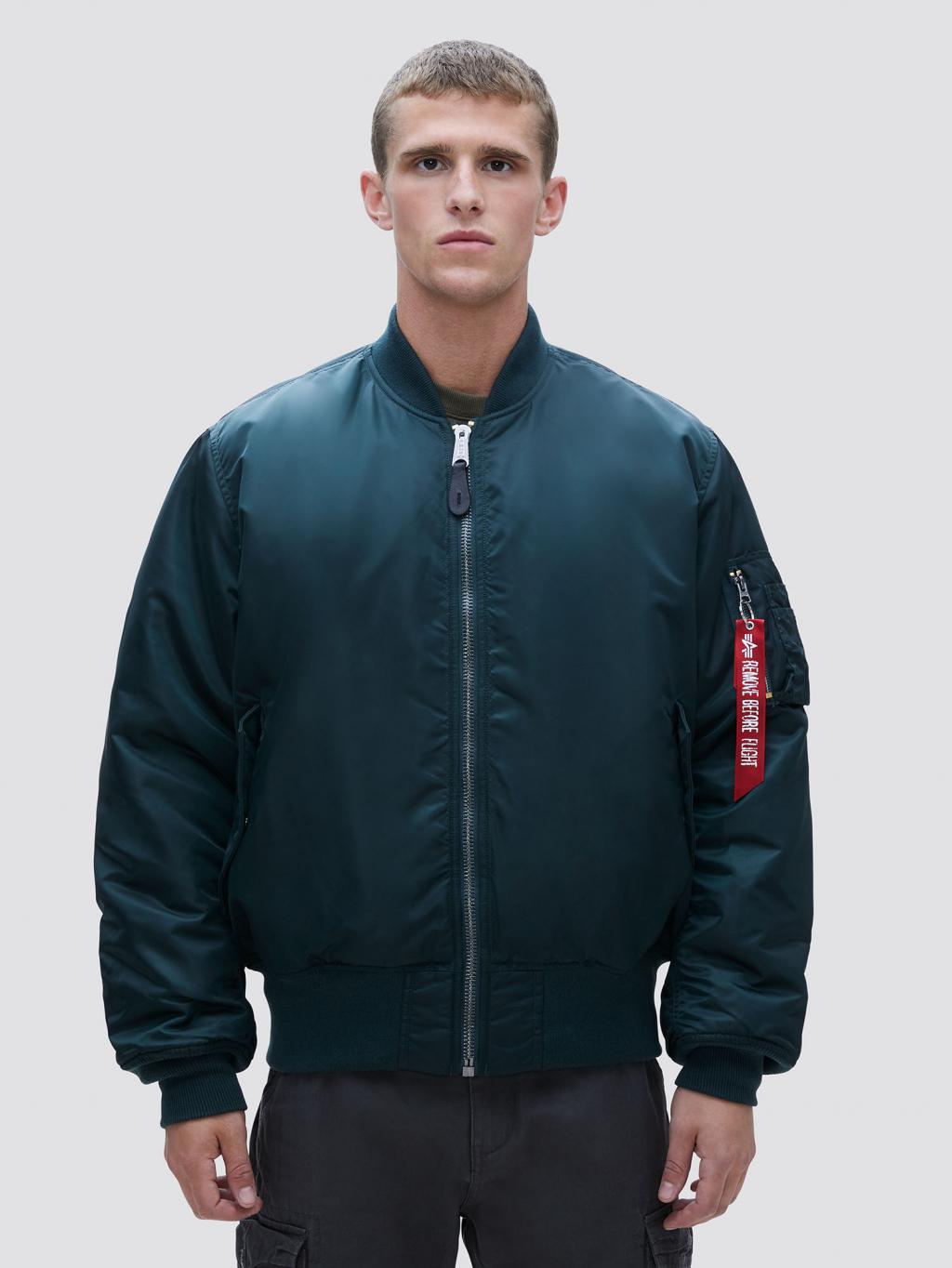 Куртка чоловіча Alpha Industries модель MJM21000C1_patrolgreen