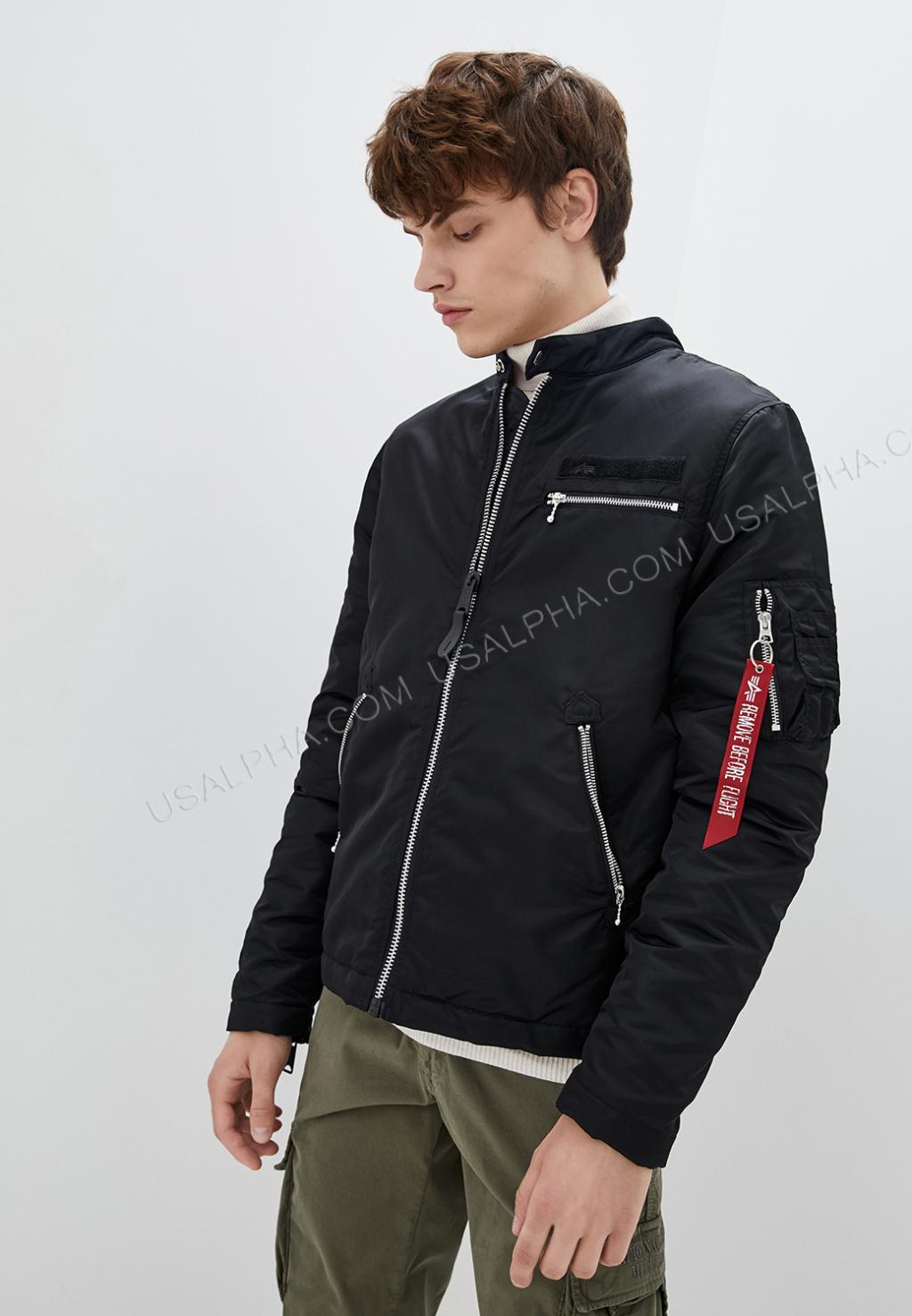 Куртка чоловіча Alpha Industries модель MJM47514C1_black