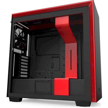 Корпус ZXT H710 Black-Red (CA-H710B-BR)