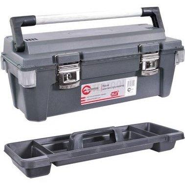 Ящик для инструмента с металлическими замками Intertool BX-6025 (Ящики для инструментов)(78211091)