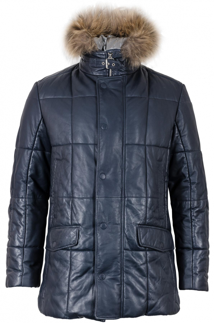 Куртка кожаная Bugatti модель 5845-610-490